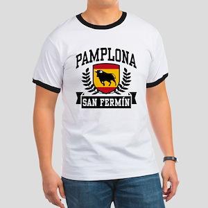Pamplona San Fermin Ringer T