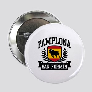 "Pamplona San Fermin 2.25"" Button"