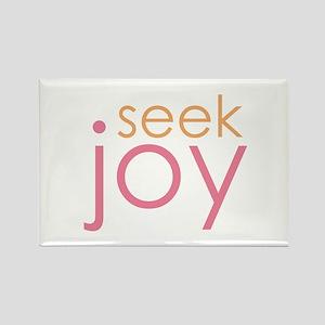 seek joy Rectangle Magnet