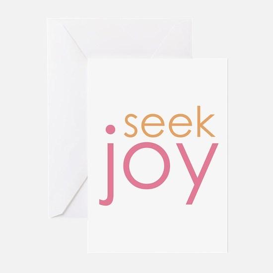 seek joy Greeting Cards (Pk of 10)