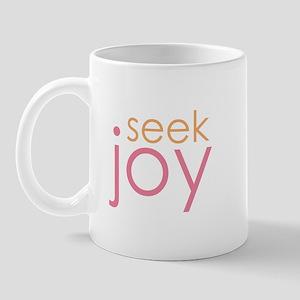 seek joy Mug