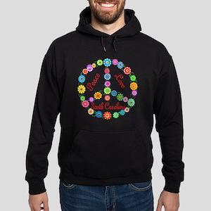 Peace Love South Carolina Hoodie (dark)