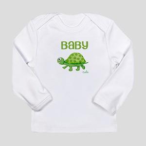 Baby Turtle Custom Long Sleeve Infant T-Shirt