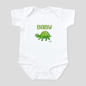 Baby Turtle Custom Infant Bodysuit