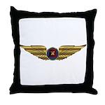 Wings of a Shrine Pilot Throw Pillow