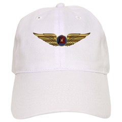 Wings of a Shrine Pilot Baseball Cap