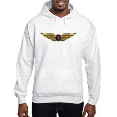 Wings of a Shrine Pilot Hoodie