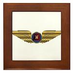 Wings of a Shrine Pilot Framed Tile