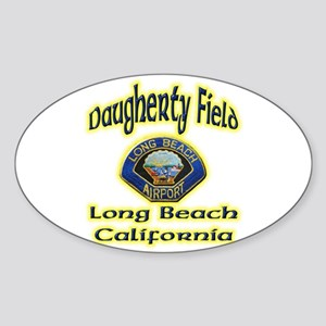 Long Beach Airport Sticker (Oval)