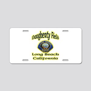 Long Beach Airport Aluminum License Plate