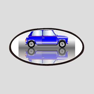 Blue Mini Car Patch