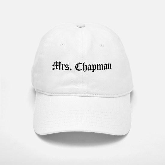 Mrs. Chapman Baseball Baseball Cap