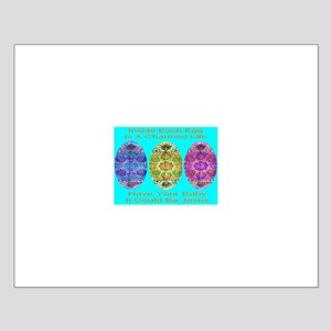 A Charmed Life Baby Boy Blue Small Poster