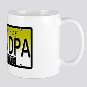 Grandpa NJ Vanity Plate Mug