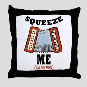 Squeeze Me! Throw Pillow