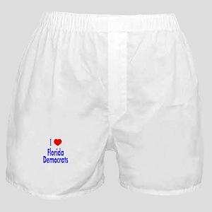 I Love Florida Democrats Boxer Shorts