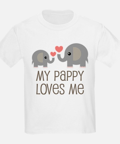 My Pappy Loves Me Gift T-Shirt