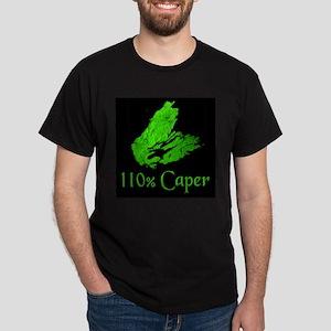 110% Caper Black T-Shirt