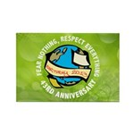 Earth Day Rectangle Magnet (100 pack)