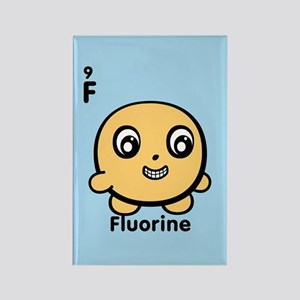Cute Element Fluorine F Rectangle Magnet