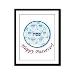 Passover Dish Framed Panel Print