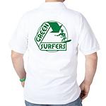 Green Surfers Golf Shirt
