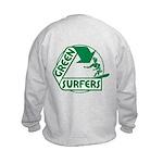 Green Surfers Kids Sweatshirt