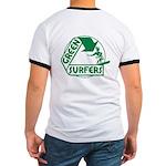 Green Surfers Ringer T