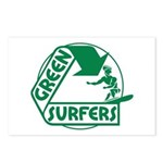 Green Surfers Postcards (Package of 8)