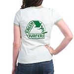 Green Surfers Jr. Ringer T-Shirt