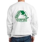Green Surfers Sweatshirt