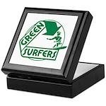 Green Surfers Keepsake Box