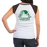 Green Surfers Women's Cap Sleeve T-Shirt