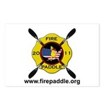 Fire Paddle Postcards (Package of 8)