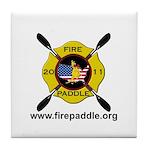 Fire Paddle Tile Coaster