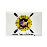 Fire Paddle Rectangle Magnet (10 pack)