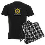 Fire Paddle Men's Dark Pajamas
