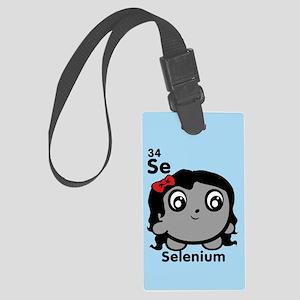 Cute Element Selenium Se Large Luggage Tag