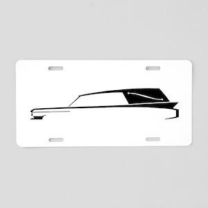 Hearse Logo Aluminum License Plate