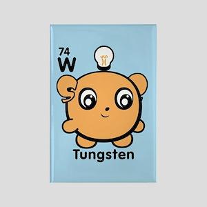 Cute Element Tungsten W Rectangle Magnet