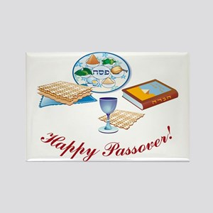 Passover Table Rectangle Magnet