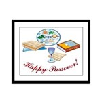 Passover Table Framed Panel Print