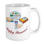 Passover Table Large Mug