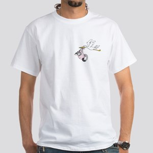 Sweet Delivery White T-Shirt