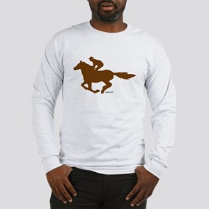 Horse Racing (4) Long Sleeve T-Shirt