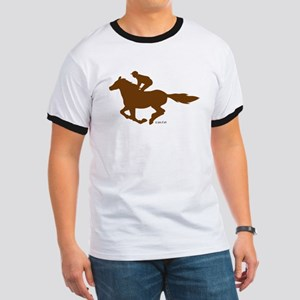 Horse Racing (4) Ringer T