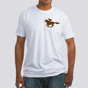 Horse Racing (4) Fitted T-Shirt