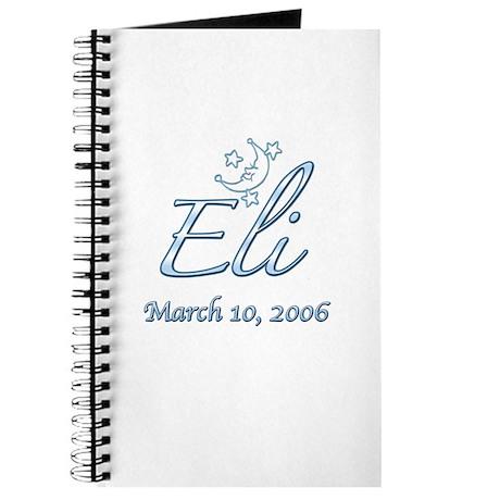 Eli stars and moon Journal