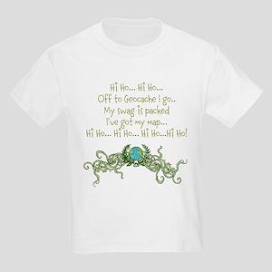 Hi Ho Geocache Kids Light T-Shirt