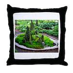 Gyo Meditation Garden Throw Pillow